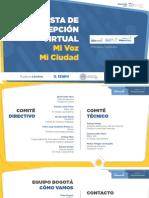 Mi Voz Mi Ciudad, Primera Medición Bogotá.