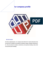 company profile of Dati up engineering PLC