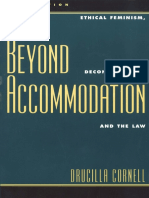Cornell, Drucilla - Beyond Accommodation. Ethical Feminism, Deconstruction, and the Law.pdf