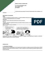 8 A SEMANA  CIENCIAS SOCIALES 11 A Y B