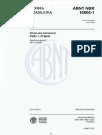 NBR 16868-1 2020 Alvenaria Estrutural parte 1 Projeto
