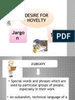slang and jargon