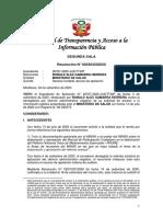 RESOLUCION N° 020303232020