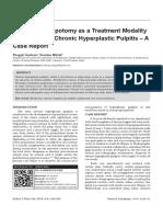 Biodentine Pulpotomy