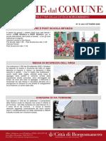 Notizie Dal Comune di Borgomanero del 2-10-2020