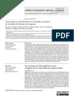 Trocas gasosas e fluorescência da clorofila em plantas