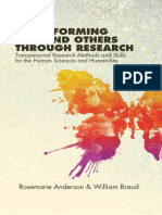 (SUNY series in Transpersonal and Humanistic Psychology) Rosemarie Anderson & William Braud - Transforming Self and Others Through Research_ Transpersonal Research Methods and Skills for the Human Sci.pdf