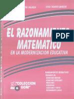 (Book) El Razonamiento Matematico - [Ing. Juan Goñi Galarza] Colección Goñi