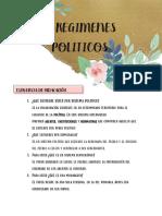 Regimen Politico