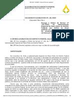 Projeto de Decreto Legislativo para ambulantes