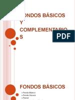 FONDOS BASICOS Y COMPLEMENTARIOS