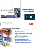 Phase-Shifting Transformers - July 2008
