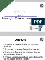 AULA INTERAÇÃO FÁRMACO-RECEPTOR.pdf