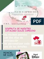CATALOGO DULCE CAPRICHO
