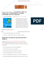 Áreas funcionales de la empresa, qué y cuáles son • GestioPolis