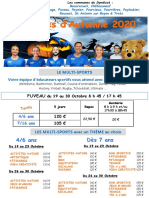 SIHVA Flyer-Automne-2020