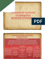 3.Conceptos+de+Corrección+Ortotipográfica-Notación+Tipográfica