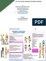 infograma seguridad y salud en el trabajo