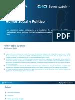 Humor Social y Político Nacional- Septiembre 2020- D'Alessio IROL - Berensztein