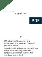 Cut off IPF
