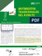PPT MOVIMIENTOS TRADICIONALES DEL KUNG FU