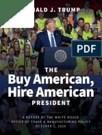 Donald J Trump Buy American Hire American President
