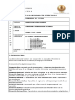 Modelo Protocolo Grupal