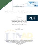 Unidad 1y 2 - Fase 4 - Costruir y aplicar un modelo de Diagnòstico organizacional_ Grupo 102025_14.