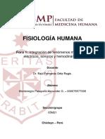 Foro 1 - Fisiología