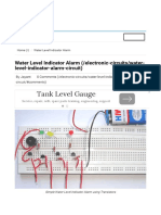 Simple Water Level Indicator Alarm Circuit Diagram.pdf