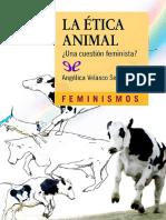 La Etica Animal ¿Una Cuestion Feminista?