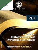 PANORAMA HISTÓRICO-RELIGIOSO
