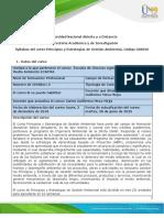 Syllabus del Curso Principios y Estrategias de Gestión Ambiental (2)