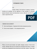 Chinese Company Management