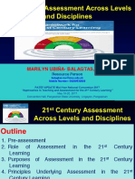 Plenary Session 4 on 21st Century Assessment across Levels and Disciplines - Dr. Marilyn U. Balagtas_2.pdf