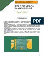 Guida all'Iscrizione a.a. 2012-2013 Università Tor Vergata