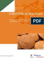 6 Receitas de Bolachas - Paulo Sebin