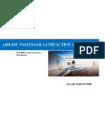 Predicting Airline Passengers Satisfaction