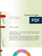 scrum in agile