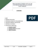 procédure technique PT-EL-01  IR 00