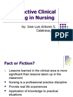 Effective Strategies in Clinical Setting
