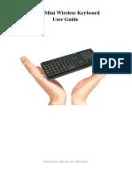 FAVI Mini Wireless Keyboard User Guide