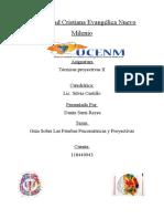Clase tecnicas proyectivas.III Parcial