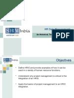 HR Data Management