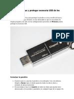 Como inmunizar y proteger memoria USB de los Virus