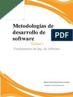 Metodologias de desarrollo
