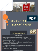 FINANCIAL RISK MGT 2003