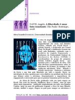 Resenha - A_liberdade_e_uma_luta_constante_de_Angela_Davis