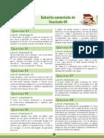 ENEM Amazonas GPI Fascículo 4 – Educação Ambiental - Gabarito Comentado