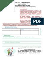 PROFE MINGO- FORMACIÓN A FALILIAS- PRIMER TALLER